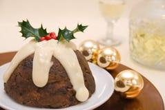 De Pudding van Kerstmis Stock Afbeeldingen