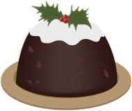 De pudding van Kerstmis Royalty-vrije Illustratie