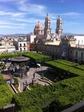 De Puebla al mundo Foto de archivo libre de regalías