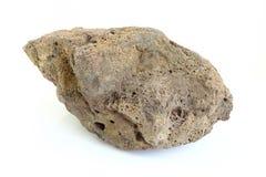 De puimsteen van vulkaan kijkt als asteroïde Stock Afbeelding