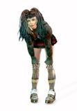 De Punker van Cyber vector illustratie