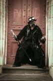 De Punker van deuropeningscyber stock afbeeldingen