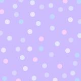 De puntachtergrond van de lavendel royalty-vrije stock afbeeldingen