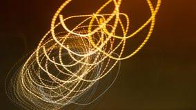 De puntachtergrond van de verlichtingscirkel Royalty-vrije Stock Foto's