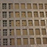 De punten van braille Royalty-vrije Stock Afbeelding