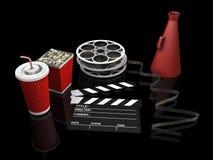 De punten van de film stock illustratie