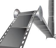 De punten van de film Stock Foto's