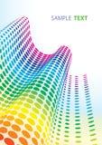 De punten van het spectrum Stock Foto