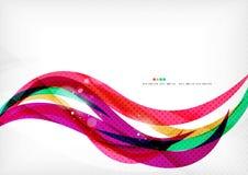 De purpere achtergrond van de regenboogwerveling stock illustratie