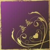 De purpere achtergrond van het ontwerp. Stock Fotografie