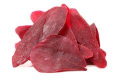 De purpere bataatbar wordt gemaakt met bataat, is de bataat zeer vruchtbaar en aanpassingsvermogen van gewassen, een nauw verwant stock foto's