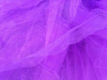 De purpere stof van de netwerkkleding Royalty-vrije Stock Foto