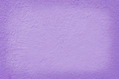De purpere textuur van de cementmuur voor het achtergrond en ontwerpkunstwerk stock fotografie