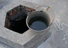 De put van het water Stock Afbeeldingen