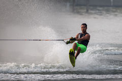 De Putrajaya do copo dos campeonatos nacionais esqui 2015 de água e Wakeboard Imagem de Stock Royalty Free