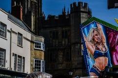 De putten mogen Markt, Somerset Royalty-vrije Stock Fotografie