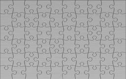 De Puzzel van het metaal Stock Afbeeldingen