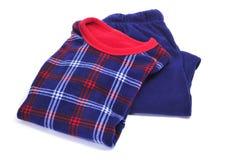 De pyjama's van de winter Stock Foto