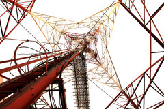 De pyloon van de de hoogspanningsmacht van de elektriciteit Royalty-vrije Stock Fotografie
