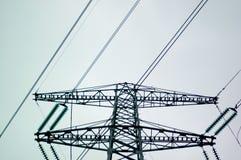 De Pyloon van de elektriciteit Royalty-vrije Stock Fotografie