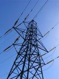 De pyloon van de elektriciteit Royalty-vrije Stock Afbeeldingen