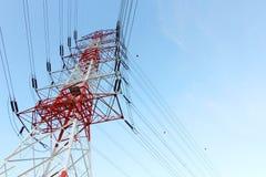 De Pyloon van de elektriciteitsmacht Stock Foto