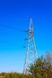 De pyloon van de hoogspanning Stock Afbeeldingen