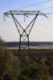 De pyloon van de hoogspanningselektriciteit Royalty-vrije Stock Fotografie