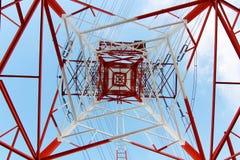De pyloon van de staalelektriciteit Stock Fotografie