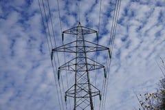 De pyloon van het hoogtevoltage Royalty-vrije Stock Foto's