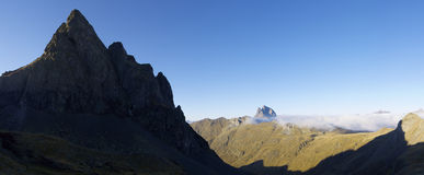 De Pyreneeën Royalty-vrije Stock Foto's