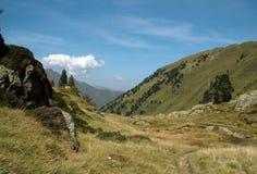 De Pyreneeën in Frankrijk Royalty-vrije Stock Afbeeldingen