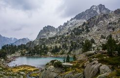 De Pyreneeën Spanje Stock Foto's