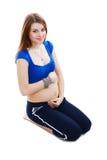 De quatre mois de la grossesse Photo stock