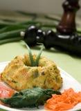 De quiche van groenten Royalty-vrije Stock Fotografie