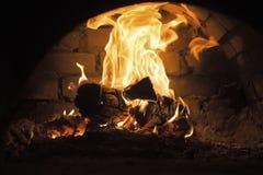 de röda flammabrännskadorna Arkivbilder