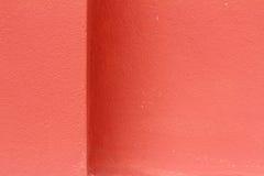 De röda väggarna är bakgrund Royaltyfri Foto