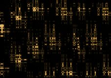 De Röntgenstraal van de Code van de mysticus Stock Afbeelding