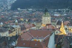 De Raad Huis hierboven wordt gezien die van Royalty-vrije Stock Foto
