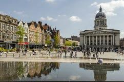 De Raad Huis, Oud Marktvierkant, Nottingham royalty-vrije stock foto's