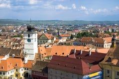 De Raad toren-Sibiu Stock Fotografie