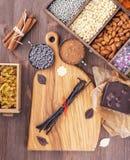 Allen voor bakselchocolade Royalty-vrije Stock Foto