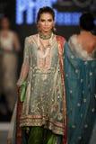 De Raad van het de Manierontwerp van Pakistan (PFDC) de Week 2012 van de Dalingsmanier Royalty-vrije Stock Foto's