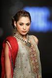 De Raad van het de Manierontwerp van Pakistan (PFDC) de Week 2012 van de Dalingsmanier Stock Fotografie