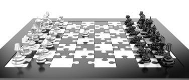 De raad van het schaak stock illustratie