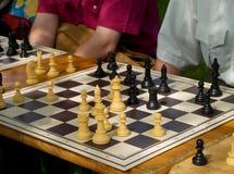 De raad van het schaak Royalty-vrije Stock Afbeeldingen