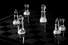 De raad van het schaak Stock Afbeelding