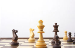 De raad van het schaak Stock Foto's