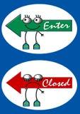 De raad van het teken stock illustratie