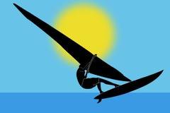De raad van Windsurfing Royalty-vrije Stock Fotografie